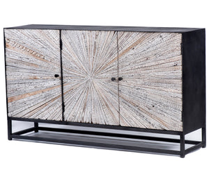 "Astral Plains 59"" Accent Cabinet - Grey"