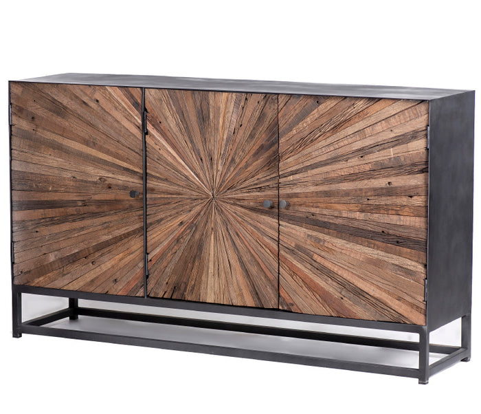 "Astral Plains 59"" Accent Cabinet - Natural"