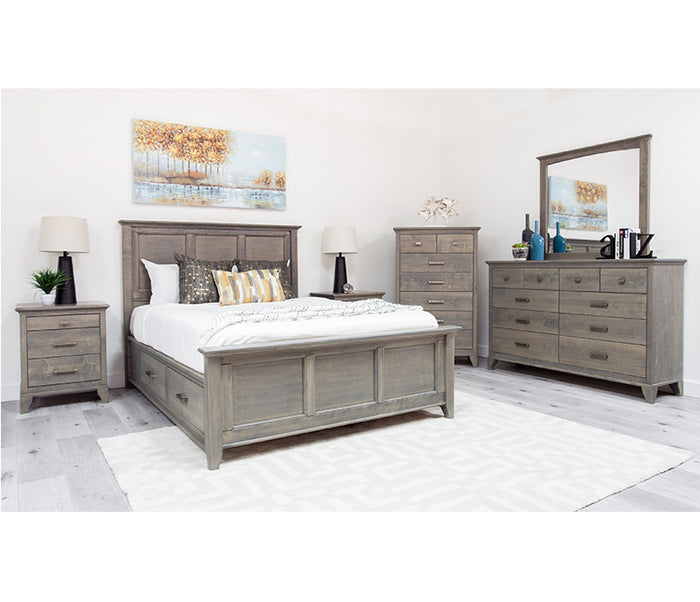 Acer Storage Bed - Grey