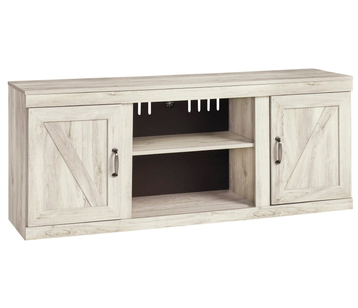 Bellaby TV Stand w/ Fireplace Option