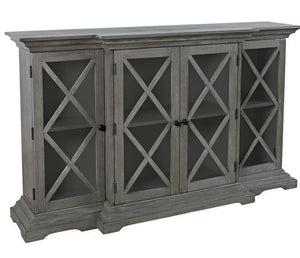 "Carrington 60"" Accent Cabinet - Grey"