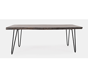 Nature's Edge - Coffee Table - Brushed Grey