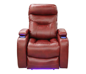 Galaxy -  Power Recliner -  Red