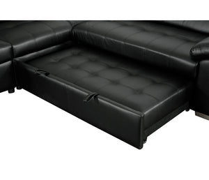 Gianluca 3 Piece Sectional w/ Pull-Out Sleeper