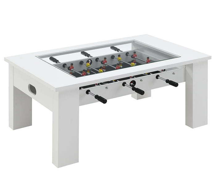 Giga Foosball Coffee Table - White