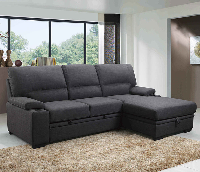 Giuseppe 2 Piece Sectional w/ Sleeper