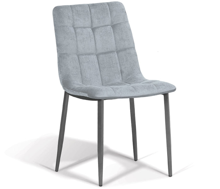 Jules Side Chair - Slate Fabric