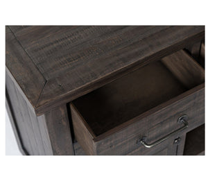"Madison County 70"" Media Console - Charcoal"