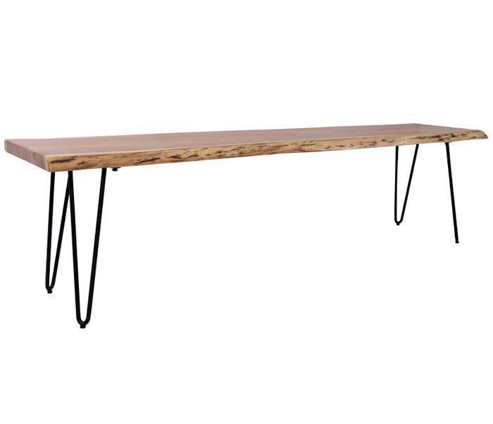 "Nature's Edge - 70"" Bench - Natural"