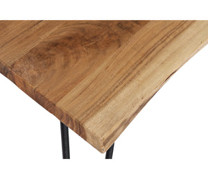"Nature's Edge - 79"" Dining Table - Natural"