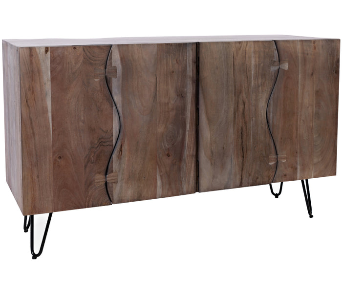 Nature's Edge Sideboard/Buffet - Brushed Grey