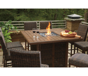 Paradise Trail Fire Pit Table - Square