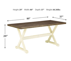 Preston Bay Rectangle Dining Table