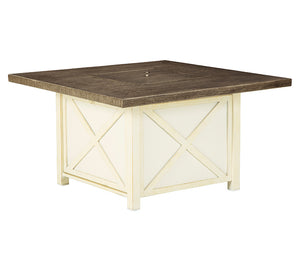 Preston Bay Square Fire Pit Table