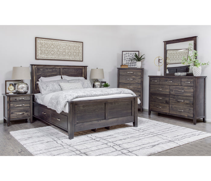 Scarlett Panel Storage Bed