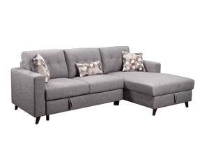 Susanna 2 Piece Sectional w/ Sleeper