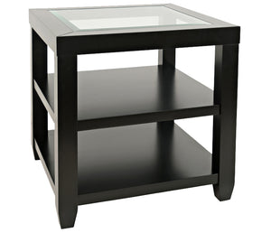 Urban Icon - End Table - Black