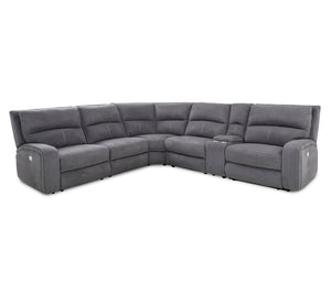 Westbrook 6 Piece Sectional - Dark Graphite