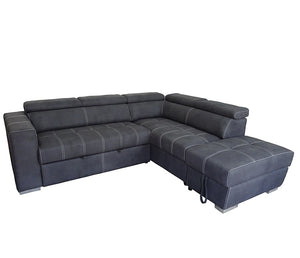 Abby 3 Piece Sectional w/ Sleeper