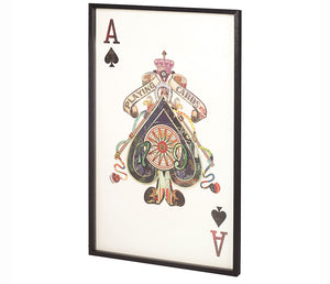 Ace of Spades I - Wall Art