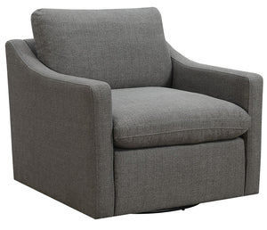 Alpine Swivel Chair - Charcoal Grey