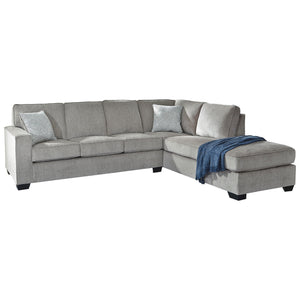 Altari 2 Piece Sectional - Alloy