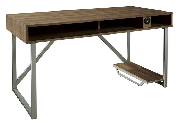 Barolli Gaming Desk - Brown