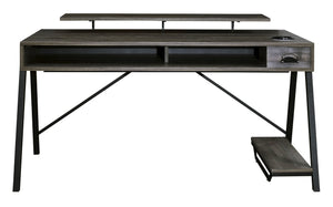 Barolli Gaming Desk - Grey