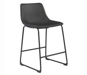 Centiar Counter Stool - Black