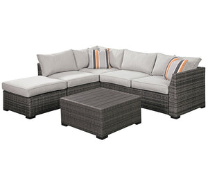 Cherry Point 4 Piece Sectional Set