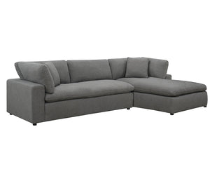 Cloud 9 - 2 Piece Sectional - Grey