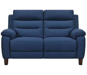 Crosby Loveseat - Power Reclining w/ Power Headrests - Blue