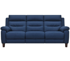 Crosby Sofa - Power Reclining w/ Power Headrests - Blue