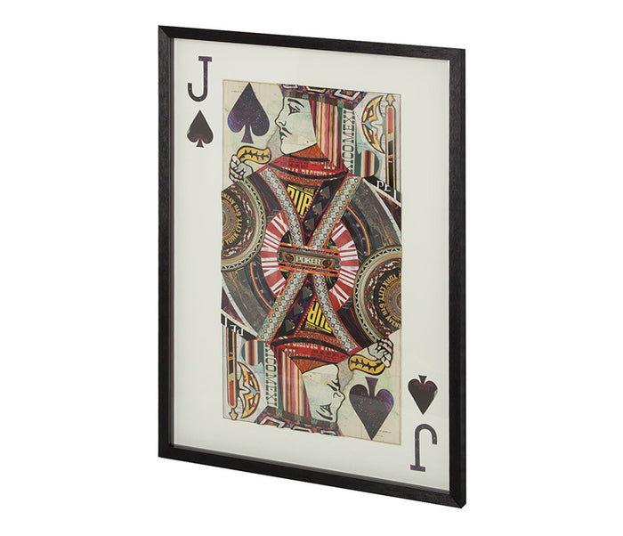 Jack of Spades II - Wall Art