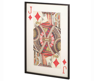Jack of Diamonds - Wall Art