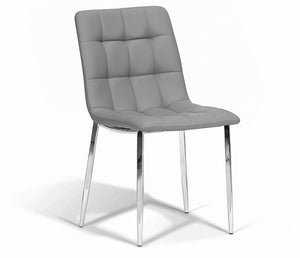 Jules Side Chair - Grey