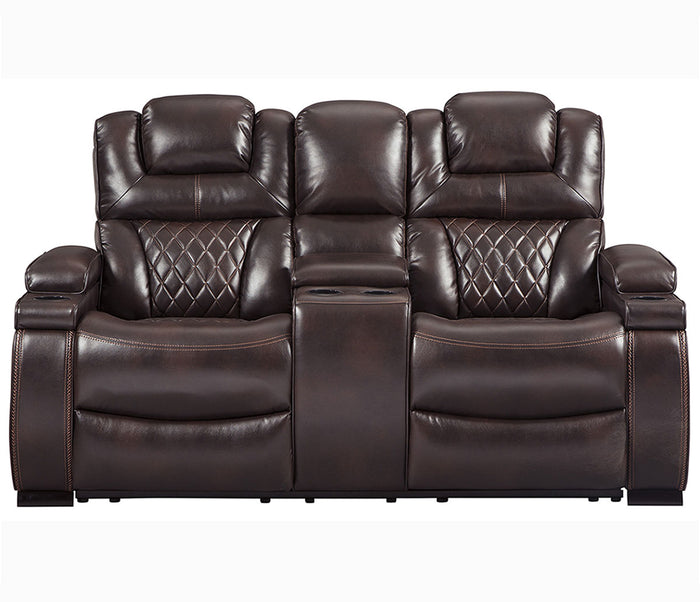 Warnerton - Power Reclining Loveseat w/ Power Headrests