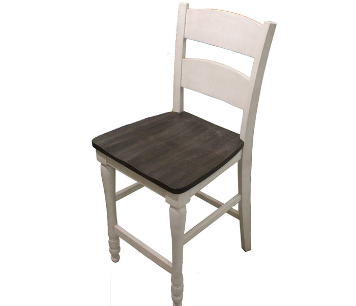 Madison County - Vintage White - Counter Stool