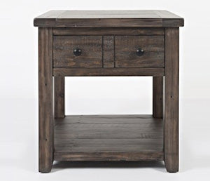 Madison County - Charcoal - End Table