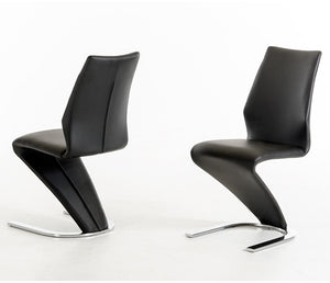Milano Dining Chair - Black