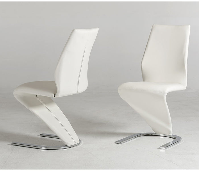 Milano Dining Chair - White