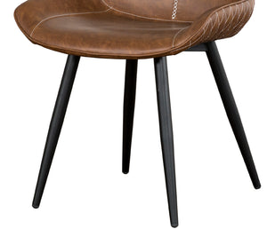 Montreal Side Chair - Cognac