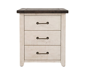 Madison County - Vintage White - Nightstand