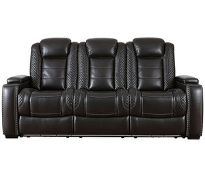 Party Time Sofa - Power Reclining w/ Power Headrests