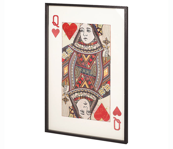 Queen of Hearts I - Wall Art