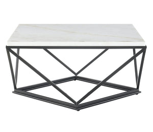 Riko Coffee Table - White Marble