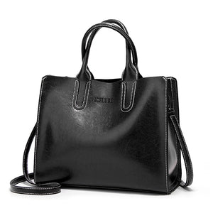 Leather Handbag, Beautiful Shoulder Bag