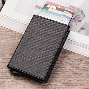 Beautiful 100% Leather RFID Wallet & Business Card Holder With Coin Holder