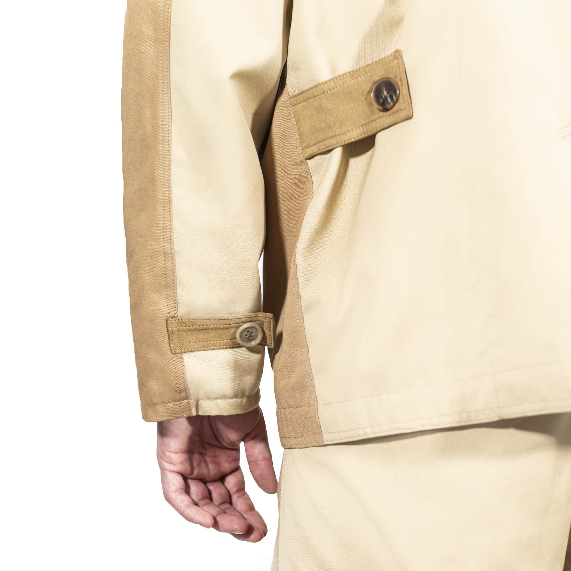 Two-Tone Worker Jacket