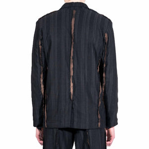 Tailored Bleached Suit Jacket